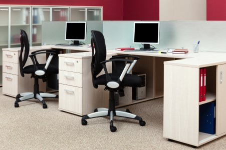 Perfectly cleaned office by Baza Services